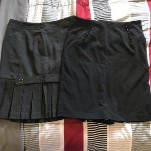 2 Great Skirts BCX & B•Wear Size 11
